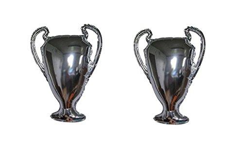 Zeus Party Offerta Kit Tifoso Palloncini Champions League Coppa Trofeo Compleanno (2 palloni)