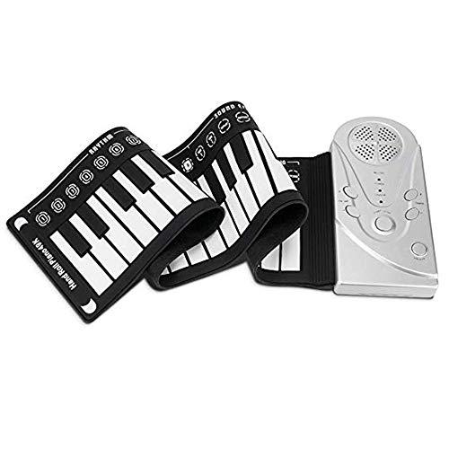 Piano a Mano, Piano Pieghevole 49 Tasti Tastiera Portatile Per Pianoforte Tastiera Elettronica Per Principianti Per Bambini