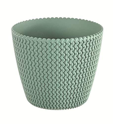 Prosperplast Splofy 2 Pot de Fleurs Vert 22 cm