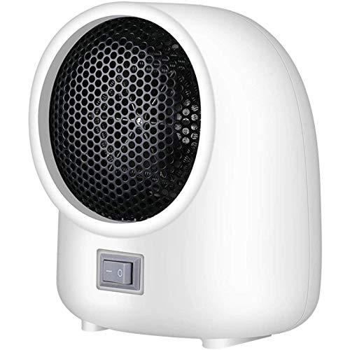 Calefactor Pequeños electrodomésticos Calentador eléctrico portátil ventilador Habitación Calentador de escritorio mini calefacción calentador aire for el hogar espacio invierno (color: A), Color: C