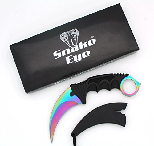 Snake Eye Tactical Karambit Style F…