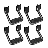 95 chevy 1500 body lift - Bully BBS-1103-2 Universal Truck Black Powder Coated Side Step Set, 4 Pieces (2 Pairs), Includes Mounting Brackets - Fits Various Trucks from Chevy (Chevrolet), Ford, Toyota, GMC, Dodge RAM and Jeep