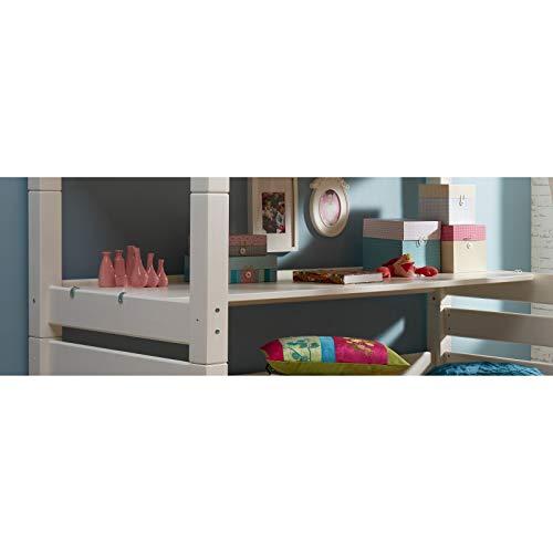Alfred & Cie - Bureau 200x60 pour lit Mezzanine Lilja Blanc