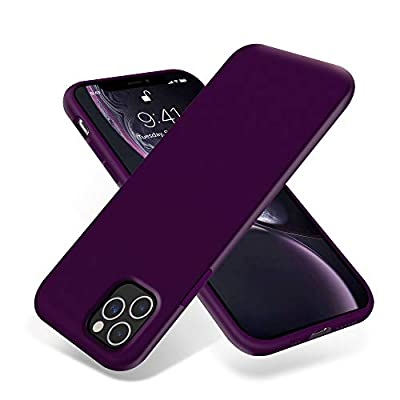 OTOFLY iPhone 11 Pro Case,Ultra Slim Fit iPhone Case Liquid Silicone Gel Cover with Full Body Protection Anti-Scratch Shockproof Case Compatible with iPhone 11 Pro (Purple)