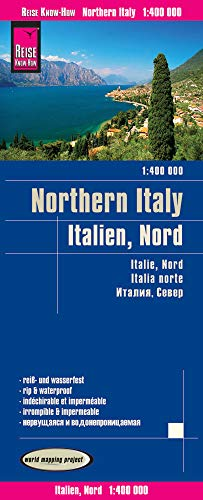 Reise Know-How Landkarte Italien, Nord (1:400.000): world mapping project