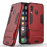 COOVY® Étui pour Samsung Galaxy A40 SM-A405F/DS/SM-A405FN/DS Coque Antichoc 2X Couche de Plastique...