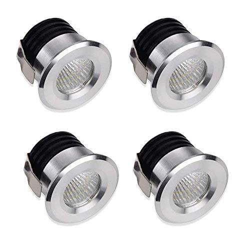 LEDシーリングライト埋め込み小型スポットライトショーケースキャビネットミニチュアミニスポットライト高光沢ウォームホワイトライト