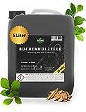 Martenbrown® Reiner Buchenholzteer im XXL-Kanister [5 Liter] | Lockmittel für Schwarzwild und Rotwild | Wildschwein Köder und Kirrmittel für die Jagd