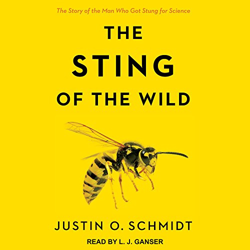 The Sting of the Wild audiobook cover art