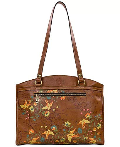 Patricia Nash Floral Map Poppy Tote