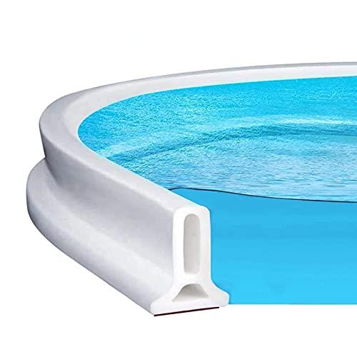 Junta autoadhesiva para cabinas de ducha, umbral de ducha, baño (150 cm)