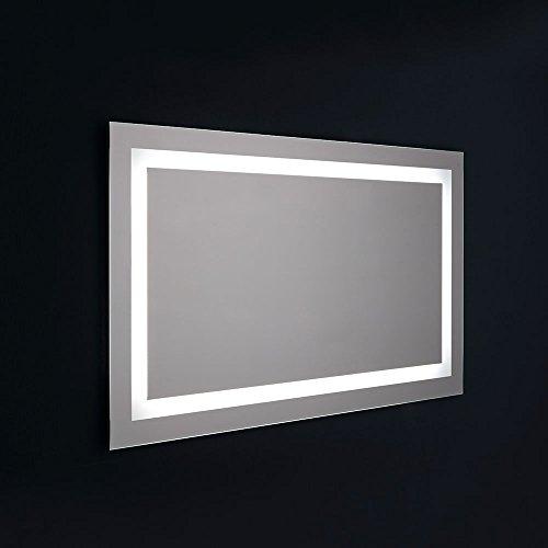 SPECCHIO A LED PER BAGNO CM. 120X70 REVERSIBILE SENSORE TOUCH