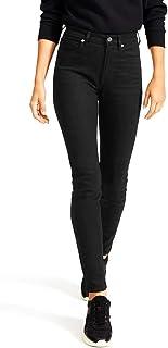DEMON&HUNTER 617 Series Pantalones Mujer Push up Vaqueros Mujer Cintura Alta Skinny Tallas Grandes Pantalones Negro