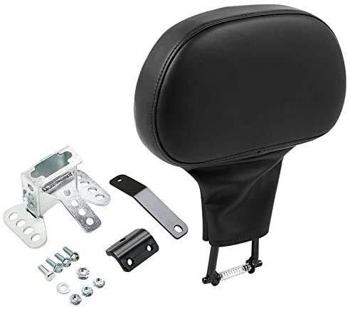 TCMT Adjustable Plug-in Driver Rider Backrest Backrest Pad Fit For Harley Touring Road King FLHR Street Glide FLHX Road Glide FLTR 2009-2020
