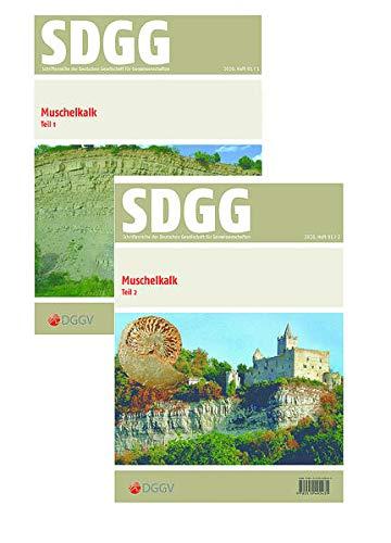 Stratigraphie von Deutschland XIII Muschelkalk Teil I + II (Schriftenreihe der Deutschen Gesellschaft für Geowissenschaften)