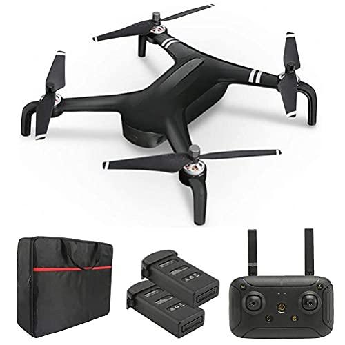 rzoizwko Drone, Drones con cuadricóptero cardán de 2 Ejes, Drone con cámara giratoria 4K, Transmisión de Video HD de 1200M, Tiempo de Vuelo de 50 Minutos (25 + 25), Motor sin escobillas, 3 Funciones