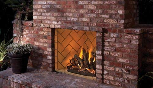 For Sale! Superior Fireplaces 36'' OD Vent-Free Firebox with Ivory Split Stacked Liner