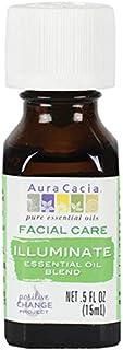 Aura Cacia Illuminate Facial Care Essential Oil Blend   0.5 fl. oz.