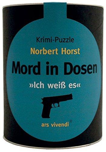 Mord in Dosen - Ich weiß es: Krimi-Puzzle
