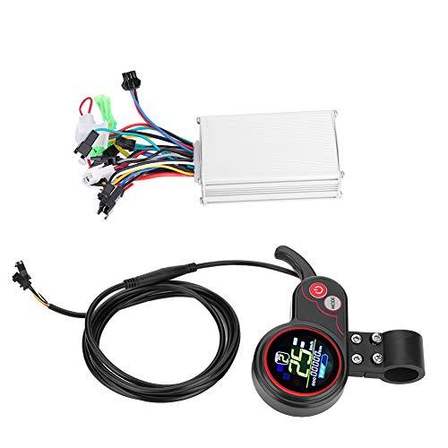Alomejor Kit de Controlador de Bicicleta eléctrica, Controlador de Scooter eléctrico con...
