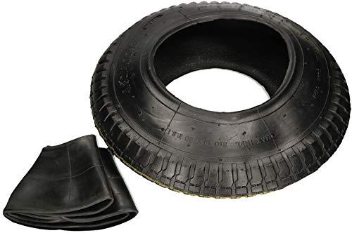 KOTARBAU® Säck lastbil däck och innerslang 4,80/4,00-8 skottkärra däck ersättningsdäck