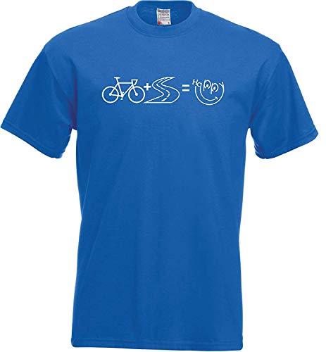 Meisjes T-shirt racefiets happy fiets fiets fiets wielrenfiets tour
