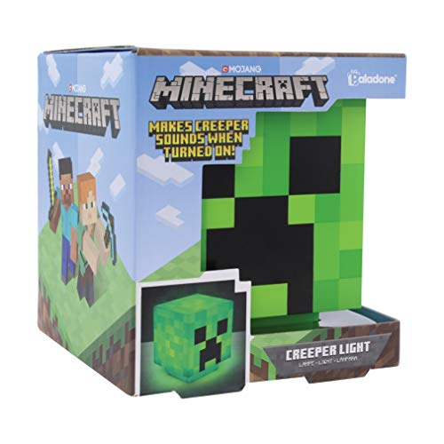 MINECRAFT - Creeper - Lamp BDP