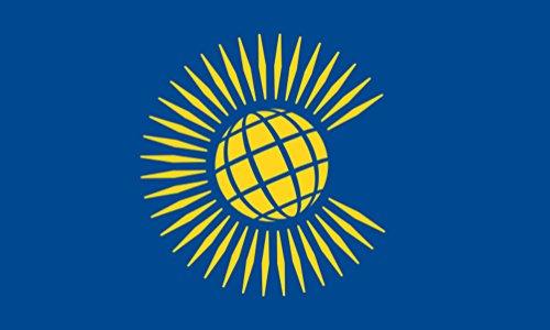 5 ft x 3 ft 150 x 90 cm-Neuf Commonwealth 100% Polyester-matière Drapeau Banniere Idéal pour l'école Business Club Décoration Commonwealth Games 2014 Écosse