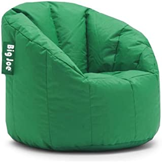 Big Joe Milano Bean Bag Chair Multiple Colors, Provides Ultimate Comfort, Great for Any Room (Elf Green)