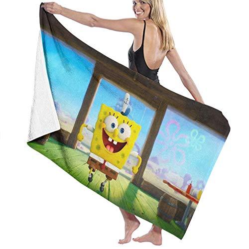 Spongebob Badetücher Premium Luxus Handtücher Set sehr saugfähig schnell trocknend und weich