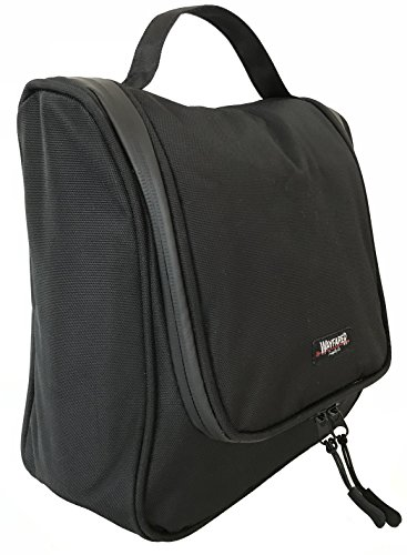 WAYFARER SUPPLY Toiletry Bag: Pack-it-flat Travel Toiletry Bag Fits Full Sized Travel Accessories