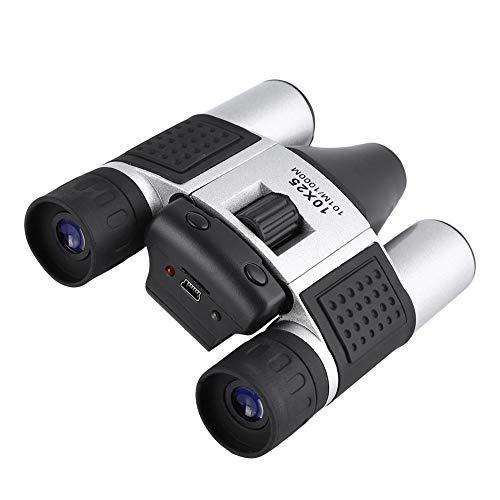 Telescopio fotocamera, binocolo 10X25 Telescopio fotocamera digitale per sport all aperto DVR Videoregistratore telescopio + fotocamera + fotocamera digitale + fotocamera computer + lettore di schede
