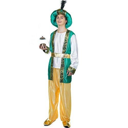 SEA HARE Disfraz de árabe Original de los Adultos de los Hombres