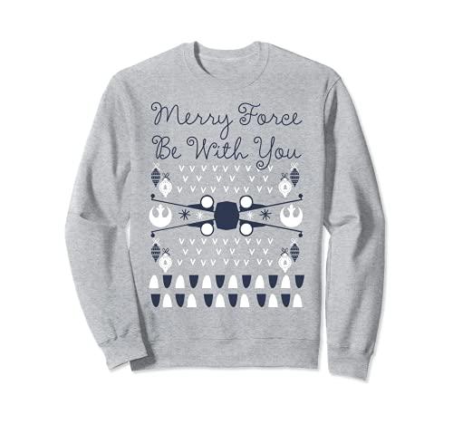 Star Wars X-Wing Ugly Christmas Sweatshirt