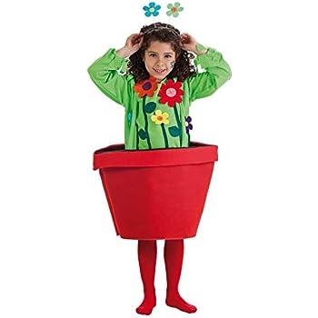 LLOPIS - Disfraz Infantil Maceta niña t-4: Amazon.es: Juguetes y ...
