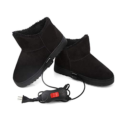 Pantofole riscaldate Scaldapiedi per scarpe USB Spina Scarpe riscaldanti elettriche, Riscaldamento elettrico Scaldapiedi invernale Ricarica di artefatti Riscaldamento elettrico Scarpe con controllo