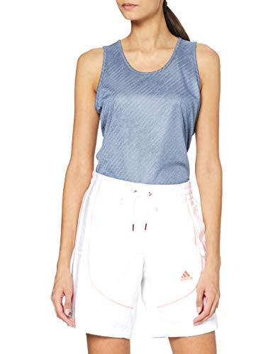 adidas OL SRT Heat.RDY Sport Shorts, Mujer, White, M