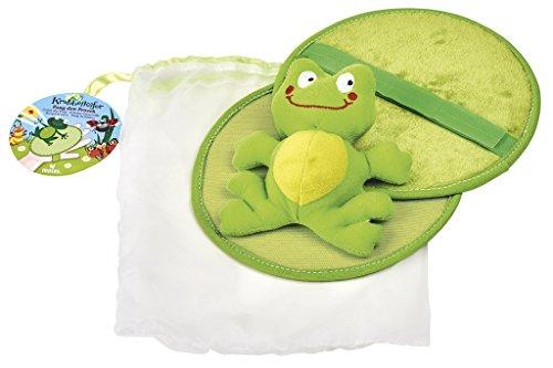 Moses 16067 16067-Krabbelkäfer Fang den Frosch | Wurfspiel für Kinder ab 3 Jahren, Grün