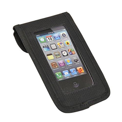 FISCHER Smartphonetasche Tasche, schwarz, 7 x 11 x 22 cm