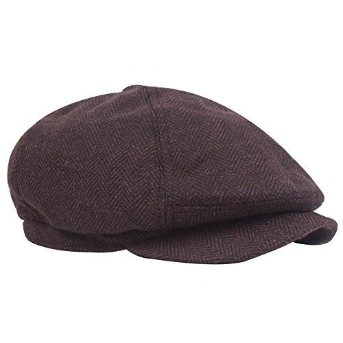 Wicemoon Hombre Mujer Boinas Ocio Sombreros Gorra Otoño Invierno Cálido Boinas