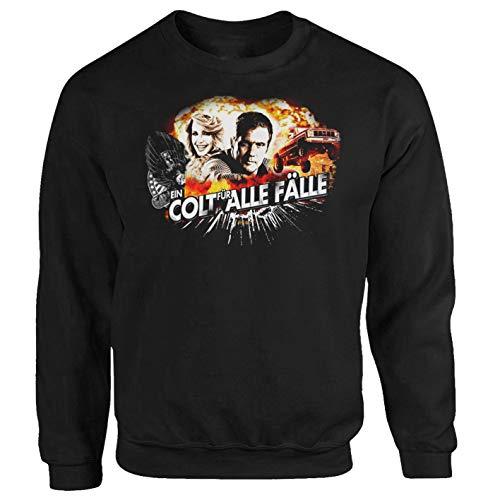 Tex-Ha Seavers EIN Colt für alle Fälle Magnum Miami Vice Dallas Serie Columbo Sweatshirt Pullover M