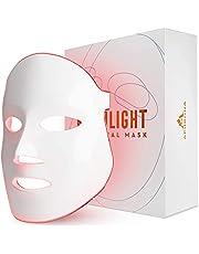 FDA cleared Aphrona LED Facial Skin Care Mask -Blue & Red Light Treatment Photon Mask