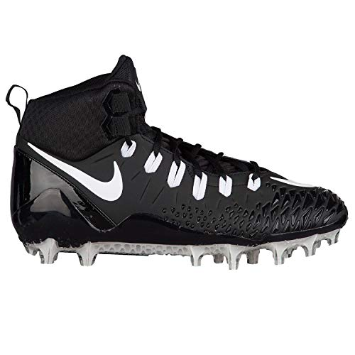 Nike Men's Force Savage Pro Football Cleat Black/White/Anthracite Size 10 M US