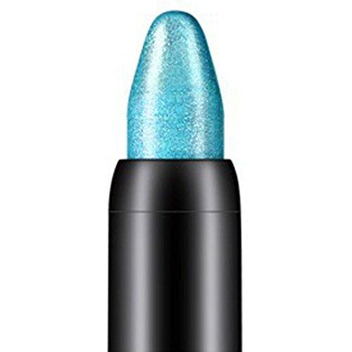 Kolylong 1pc Surligneur Étanche Le fard à paupières Crayon, Bleu