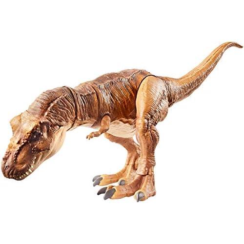 Jurassic World FLN76 - Tyrannosaurus Rex Giocattolo per Bambini dai 4 Anni in su, Multicolore