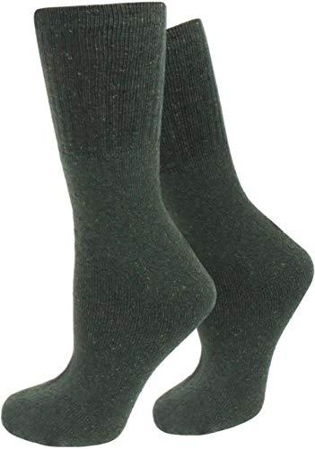 Circle Five 10 Paar Herren Army Socken aus Baumwolle Größe 43/46