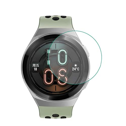 Price comparison product image VIESUP for Huawei Watch GT 2e Screen Protector Tempered Glass,  2.5D Arc Edges 9 Hardness HD Anti-Scratch Screen Protective Film for Huawei GT2e Smartwatch