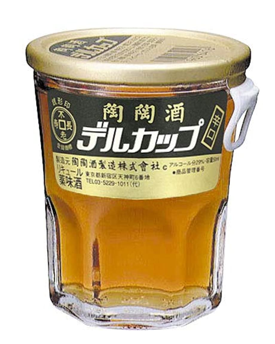 糸エピソード教会陶陶酒 銭形印 辛口 デルカップ 50ml×5本セット