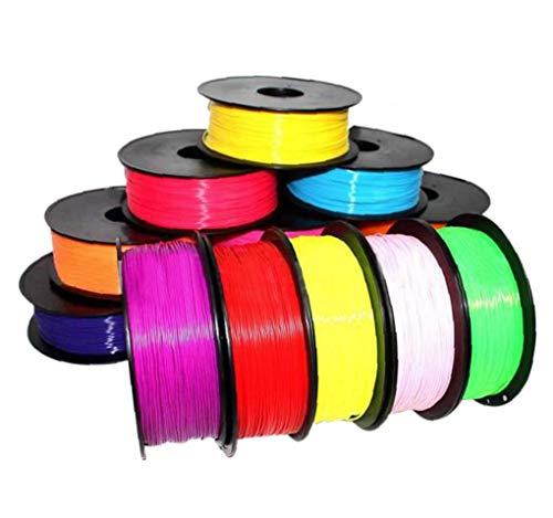 Hotaden 1pc Random Color 1.75mm Print Filament Abs Modeling Stereoscopic for 3d Drawing Printer Pen