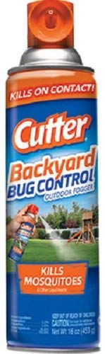 Cutter HG-95704 16 oz Bug Free Backyard Outdoor Fogger - Quantity 4